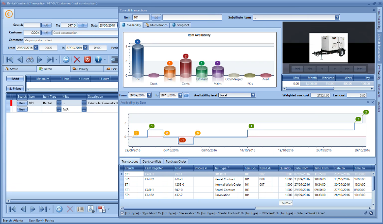 Sirius E Rental Software Demo Now Orion Software Inc